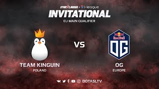 Team Kinguin против OG, Вторая карта, EU квалификация SL i-League Invitational S3