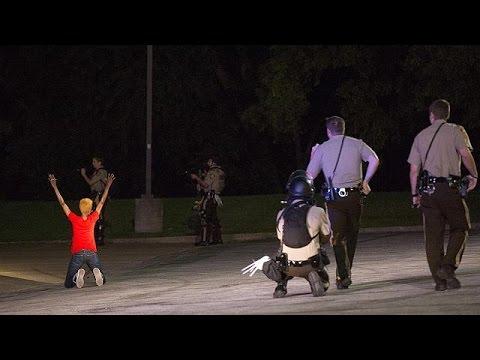 ABD'de hırsız kovalayan polis vuruldu