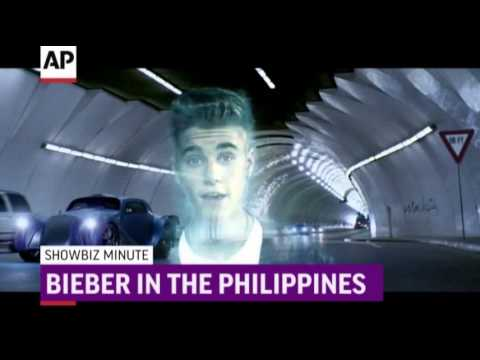 showbiz - Murray to return to court; Bieber in the Philippines; Miley is MTV best artist of 2013. (Dec. 10)