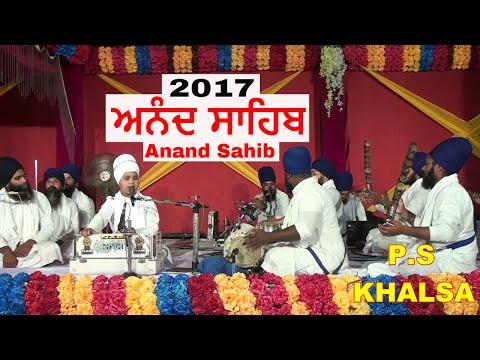Video Anand Sahib ਅਨੰਦ ਸਾਹਿਬ  2017 Bhai Parampreet Singh Ji Khalsa Nathmalpur Wale download in MP3, 3GP, MP4, WEBM, AVI, FLV January 2017