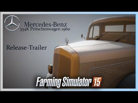 Mercedes 334K Flatbed Truck v1.05 bugfixes