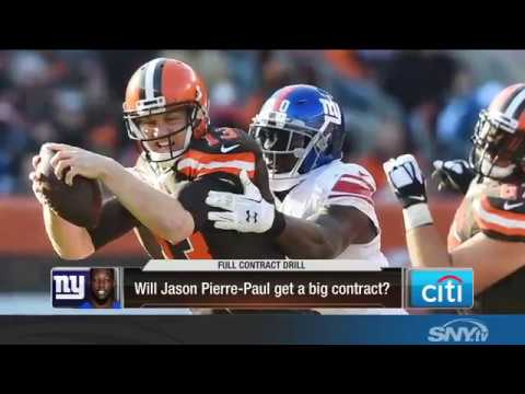 Video: Will Jason Pierre-Paul get a long term deal with the Giants?