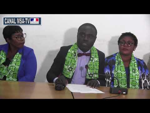 COTE D'IVOIRE : Hervé ACHI President des Jeunes cadres du PDCI nes cadre à Daoukrou