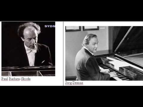 BADURA-SKODA & DEMUS PLAY SCHUBERT FANTASIE PART 1 OF 3