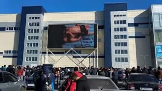 Video Первый раунд Как болели за Хабиба в Барнауле. Nurmagomedov vs McGregor MP3, 3GP, MP4, WEBM, AVI, FLV November 2018
