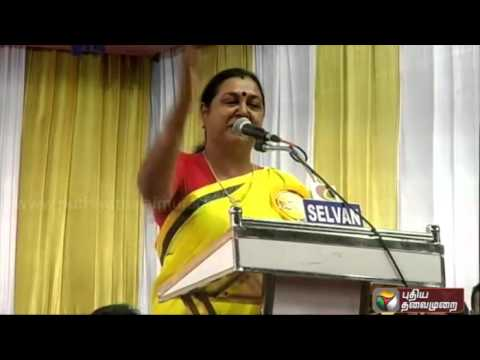 Premalatha-Vijayakanths-response-to-accusations-against-her-by-ousted-party-members