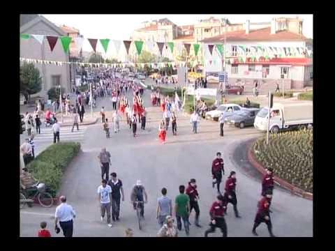 23. İnegöl Belediyesi Uluslararası Kültür Sanat Festivali Kortej Yürüyüşü