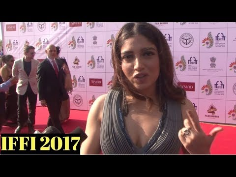 Bhumi Pednekar Attends Red Carpet At IFFI 2017 Closing Ceremony