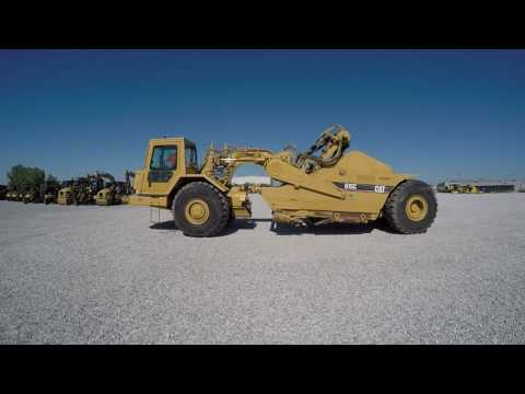 CATERPILLAR ホイール・トラクタ・スクレーパ 615C equipment video UPpoquCEAEI