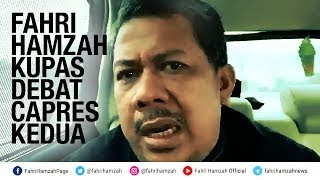 Download Video [VLOG] Fahri Hamzah Kupas Debat Capres Kedua MP3 3GP MP4