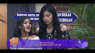 Video Dessy JKT48 dan Ghea Youbi Nyari Kost | OPERA VAN JAVA (08/12/18) Part 3 MP3, 3GP, MP4, WEBM, AVI, FLV Desember 2018