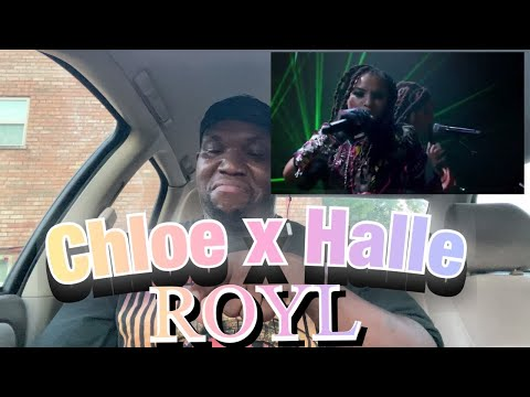 Chloe x Halle | Royl | Live at Global Goal | Reaction