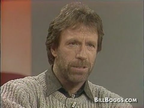 Chuck Norris – Interview with Bill Boggs