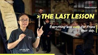The Last Lesson Part 4 of 5