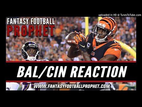 Bengals vs. Ravens Instant Reaction - NFL Week 2