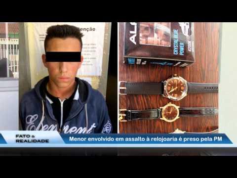 Adolescente envolvido em assalto em Sta Cruz das Palmeiras é preso pela PM