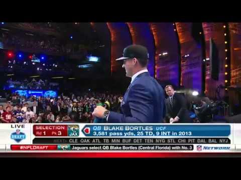 Jaguars select Bortles | NFL Draft 2014