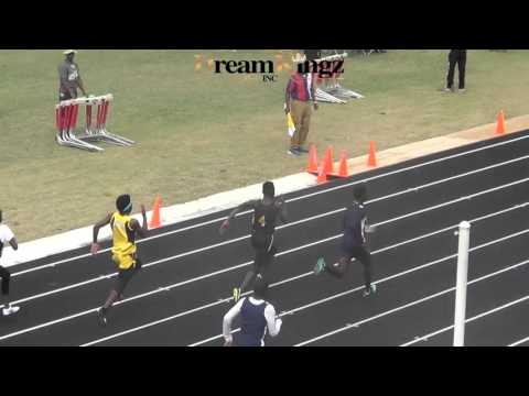BOB HAYES 100 METER DASH MIDDLESCHOOL