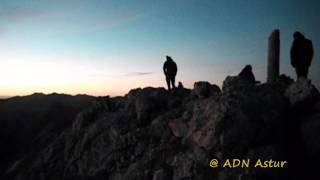 Time lapse Torrecerredo (2648m).