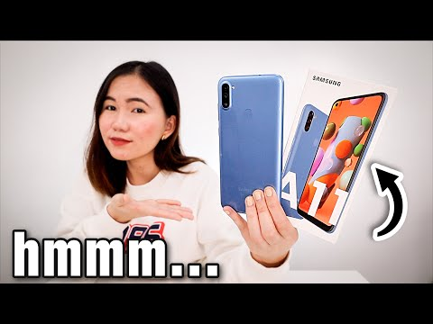 SAMSUNG GALAXY A11 UNBOXING: IS IT WORTH IT?