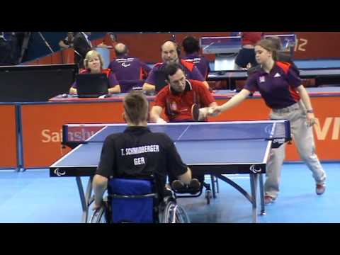 London 2012 – KESLER Zlatko (SRB) – SCHMIDBERGER Thomas (GER) 2