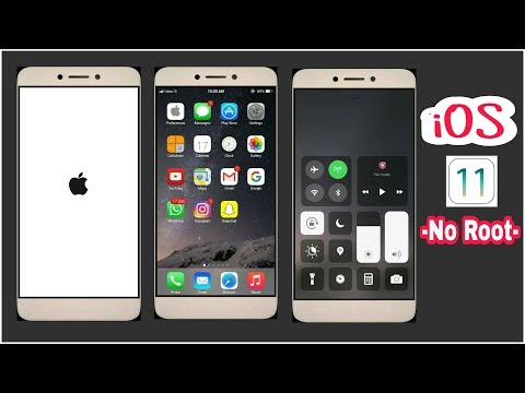 Get iOS 11 On Any Android Smartphone (No Root) | iLauncher | Make Any Android Look Like iOS 11