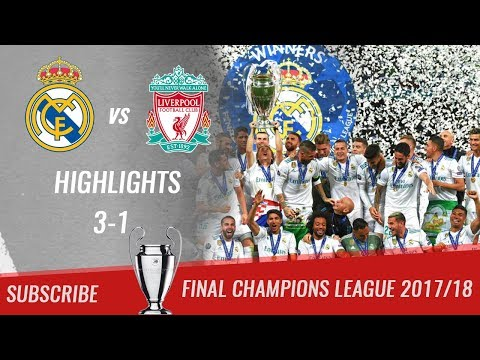 🏆 2017/18 - Final UCL 🏆 Real Madrid vs Liverpool FC 3-1 All Highlights & Goals | HD