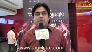 Ganesh Ragavendra at Aaram Vettrumai Movie Audio Launch