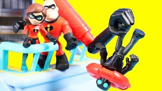 Video Disney Pixar Incredibles 2 Toy Review With Mr. Incredible And Hydroliner Playset MP3, 3GP, MP4, WEBM, AVI, FLV April 2019