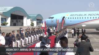 Video ASEAN 2017: Arrival of Joko Widodo, President of Indonesia MP3, 3GP, MP4, WEBM, AVI, FLV Februari 2018