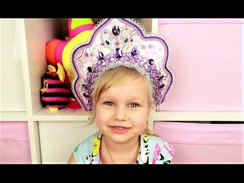 Алиса показывает КЛАССНЫЕ ободки для волос! ВИДЕО ДЛЯ ДЕВОЧЕК Развлечение для детей от Мими Лисса (видео)