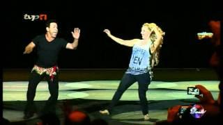 تاتیانا پرز و محمد خردادیان ، پایان مرحله مقدماتي مسابقات رقص - تفليس