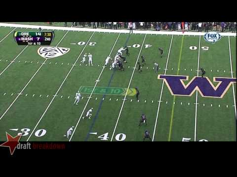 Danny Shelton vs Oregon 2013 video.