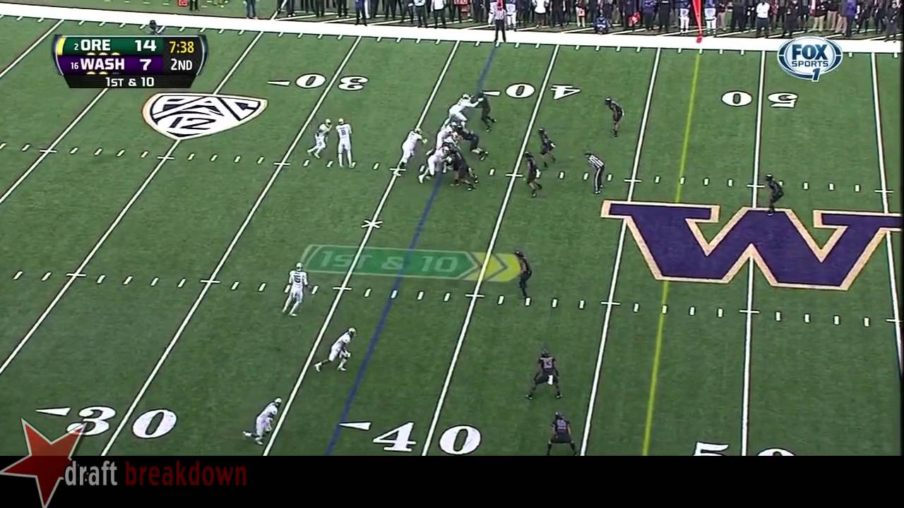 Danny Shelton vs Oregon (2013)