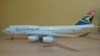 Video South African 747-400 Papercraft MP3, 3GP, MP4, WEBM, AVI, FLV Agustus 2018