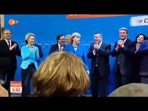 Merkel wirft BRD Fahne weg Langversion