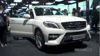 Mercedes ML 350 W166 AMG Package On Details
