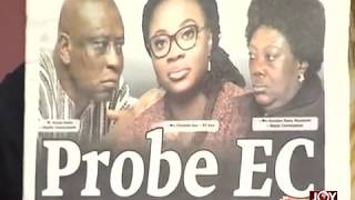 Newspaper Headlines and other matters arising in Ghana.
