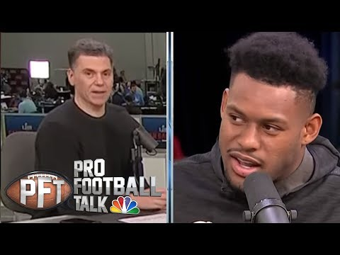 Video: Smith-Schuster: Antonio Brown, Le'Veon Bell staying in Pittsburgh | Pro Football Talk | NBC Sports