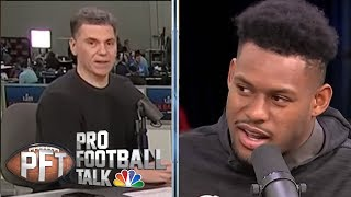 Smith-Schuster: Antonio Brown, Le'Veon Bell staying in Pittsburgh | Pro Football Talk | NBC Sports