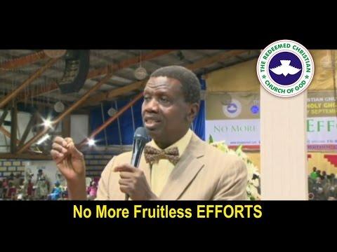 Pastor E.A Adeboye Sermon At RCCG September 2016 HOLY COMMUNION