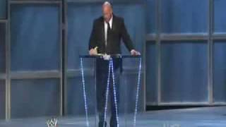 Stone Cold Steve Austin in Hall of Fame 2009