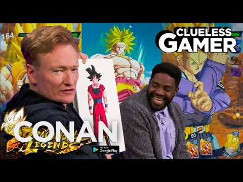 """Clueless Gamer: """"Dragon Ball Legends"""" With Ron Funches  - CONAN on TBS"""