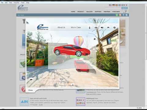 شرح تجميع الصور باستخدام برنامج Easypano Tourweaver