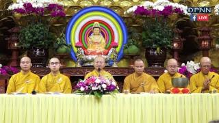 [TRỰC TIẾP] Tụng kinh trong  Lễ Quy Y Tam Bảo tại chùa Giác Ngộ - Ngày 17/11/2018