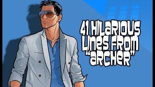 "Video 41 Hilarious Lines From ""Archer"" MP3, 3GP, MP4, WEBM, AVI, FLV Desember 2018"