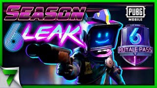 Season 6 LEAK PUBG Mobile! NEW REWARDS & SKINS!