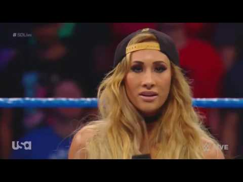 Carmella Adresses Controversy From The Womens Money In The Bank Ladder Match