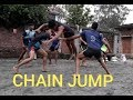 Chain jump techniques  // Kabaddi practice //Jaan kabaddi
