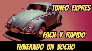 Tuneando un vocho 2 | Unboxing productos JJ custom | Custom Mexico